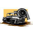 turbo on isolated white vector image