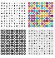 100 kitchenware icons set variant
