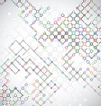 Abstract background with connecting lattices vector image vector image