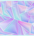 abstract hologram geometric pattern vector image