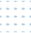 baby icon pattern seamless white background vector image vector image