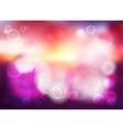 Bokeh blur romantic purple backdrop vector image vector image