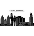 canada mississauga architecture city vector image vector image