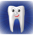 cheerful tooth vector image vector image