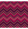 Pink Knit Texture Pattern vector image vector image