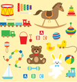 toys clipart vector image vector image