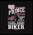 biker wife vector image