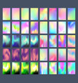 bright color background with mesh gradient vector image