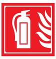 fire-extinguisher vector image