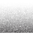 Grunge seamless halftone background with noise vector image