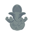 India elephant budda vector image vector image