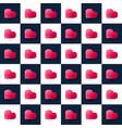 seamless isometric stock pattern geometric flat vector image vector image