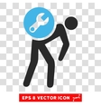 Service Courier Eps Icon vector image