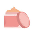 skin care cosmetic cream product icon vector image vector image