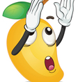 a mango vector image vector image