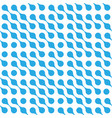 abstract background blue connected dots vector image vector image