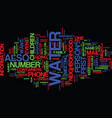 are you prepared text background word cloud vector image vector image