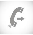 Call black icon vector image vector image