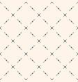 geometric pattern dots lines diagonal grid vector image vector image