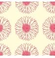 Gerbera floral pattern vector image
