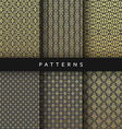 Luxury design elements pattern abstract texture vector image
