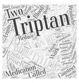 Migraine Abortive Medications Word Cloud Concept vector image vector image