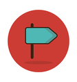 Road Signpost icon vector image