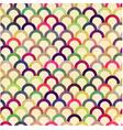 seamless circular abstract pattern vector image vector image