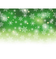 seamless snow background vector image vector image