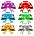 Six bows vector image vector image