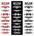 tribal tattoo pack vector vector image vector image