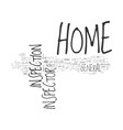 what does a home inspector do text word cloud vector image vector image
