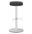 Bar stool vector image
