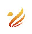 Firebird-380x400 vector image vector image