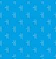 horizontal bar pattern seamless blue vector image vector image