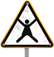 Pictogram street signs 23 vector image vector image