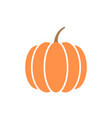 pumpkin graphic design template isolated vector image vector image