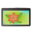 Tablet device vector | Price: 1 Credit (USD $1)