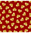 valentines heart seamless vector image