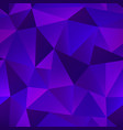 violet color triangle pattern vector image