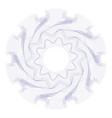 watermark guilloche rosetta vector image vector image