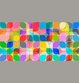 abstract seamless background pastel and vibrant vector image vector image