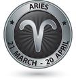 aries zodiac silver sign symbol