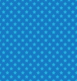 Blue seamless pattern with stars vector image vector image