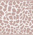 giraffe skin seamless african animal pattern vector image vector image