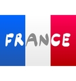 Grunge Flag Of France national vector image vector image