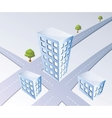 Isometric projection vector image vector image