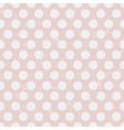 seamless retro polka dots texture background vector image vector image