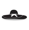 woman hat vector image vector image