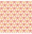 Dots pink vector image